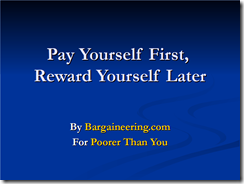 Pay Yourself First Slideshow