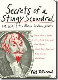 Secrets of a Stingy Scoundrel book cover