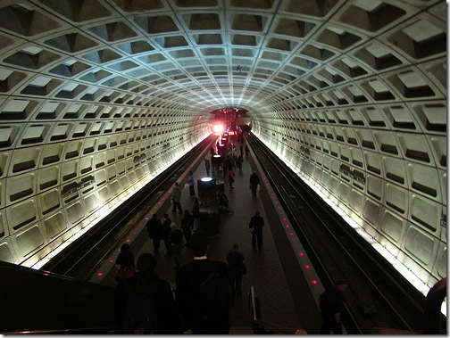 Washington DC Metro Station by pfrench99 on Flickr
