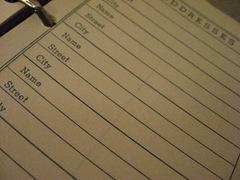 California address book... by The Young Ryan G on Flickr