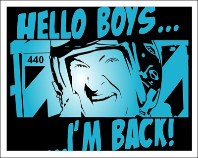 Hello boys.... I'M BACK
