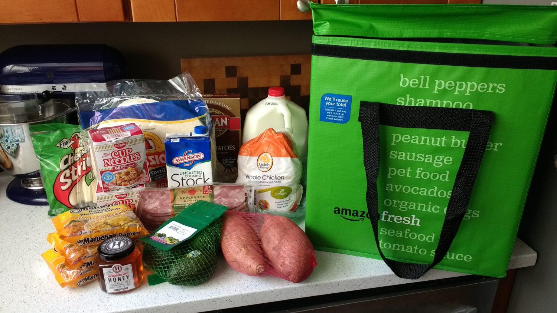 Amazon Fresh Grocery Delivery Haul