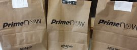 Amazon Prime Now Grocery Bags | PoorerThanYou.com