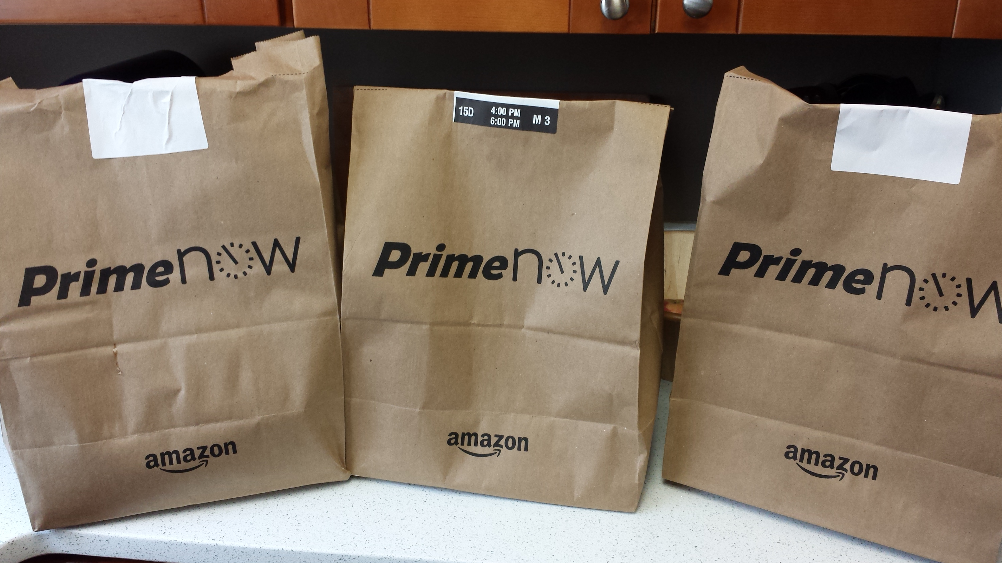 Prime Now Review - Amazon Brings Me My Groceries