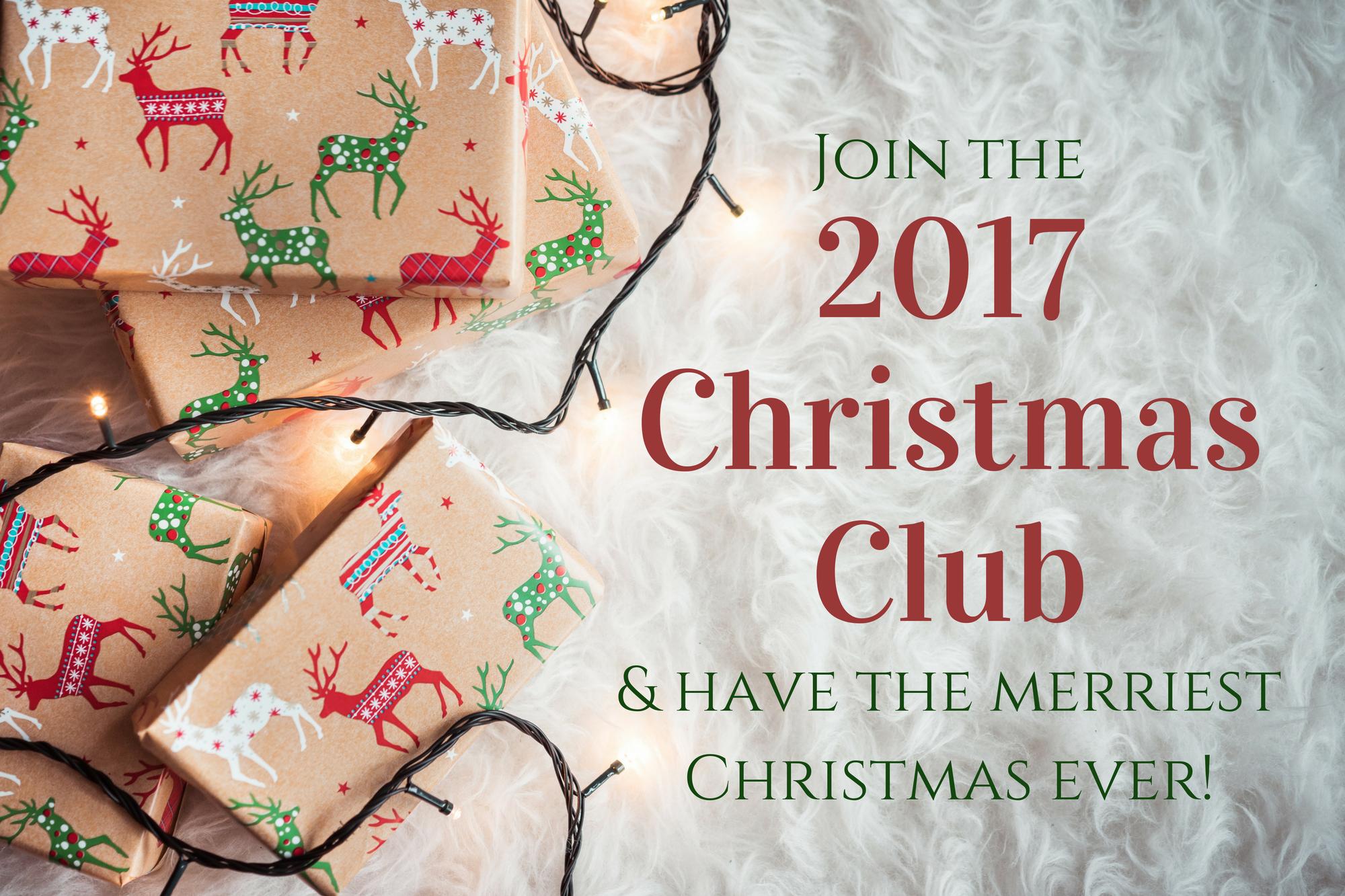 Join the Virtual Christmas Club! | Poorer Than You