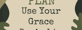 Student loan debt won't get the best of me! I'll use my grace period to prepare a battle plan.