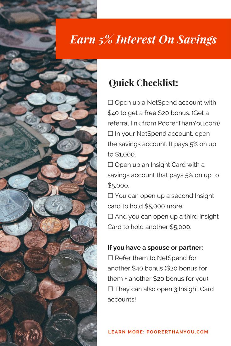 do savings accounts earn interest