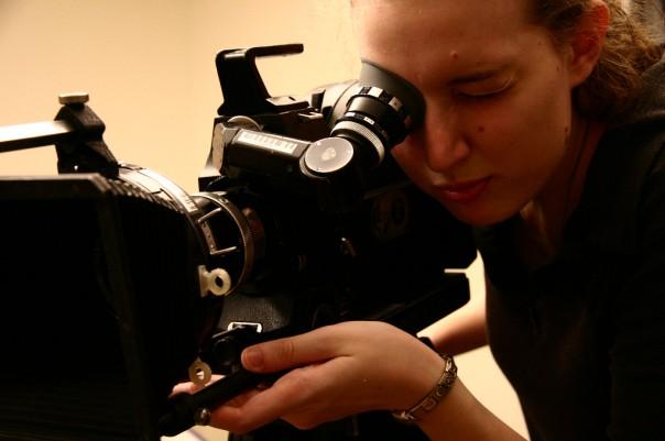 Stephonee in film school, 2006 | Photo Credit: Jen Stitt