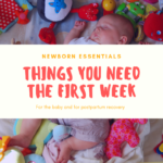 Everything That Was ACTUALLY Useful the Week After I Had My Baby
