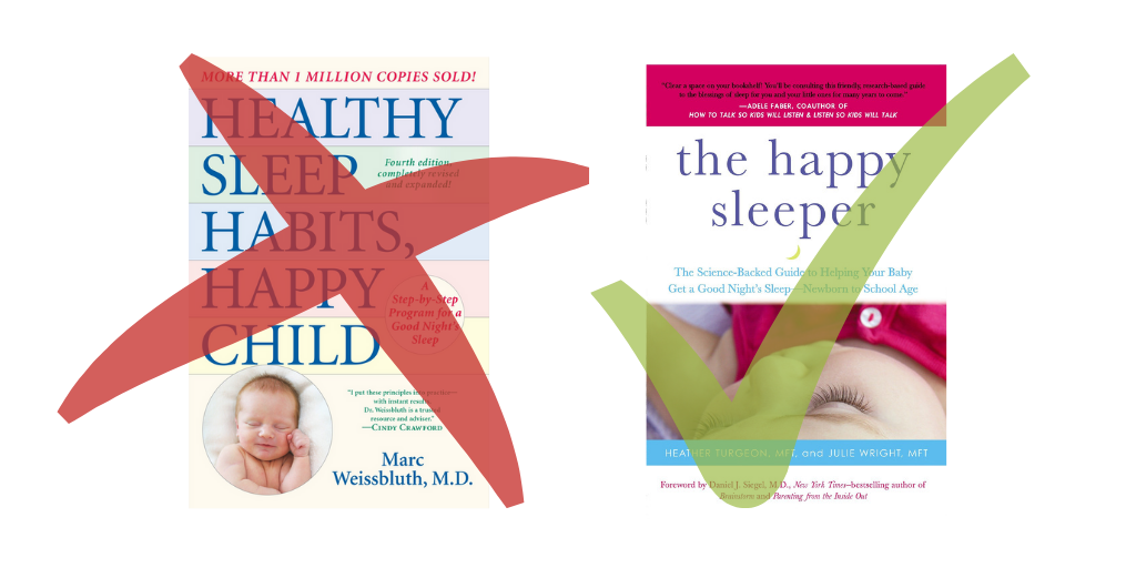 The Happy Sleeper for infant sleep, NOT Healthy Sleep Habits, Happy Child